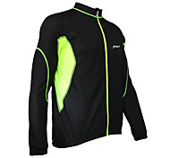 JAGGAD Bike/Cycling Windbreakers / Jacket / Tops Men's Long Sleeve Windproof Polyester Patchwork Yellow / Blue / OrangeS / M / L / XL /