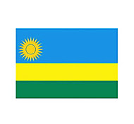 10 Pcs Rwanda Temporaty Tattoo Sticker
