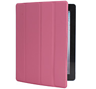 Protective Four-fold Spider Style Case for iPad 2/3/4 (Pink)