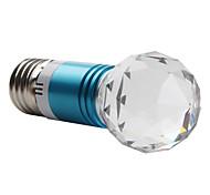 Globe Bulbs , E26/E27 W 1 High Power LED LM Blue AC 85-265 V