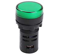 AD16-22DS 22mm Indicator Light AC 220V (Green, 1 Piece a pack)