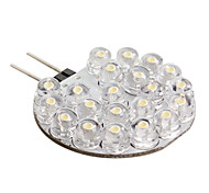 G4 21-LED 0.6W 126LM Warm White Light Bulb for Car (DC 12V)