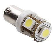 BA9S 1W 5x5050 SMD White Light LED Bulb for Car (DC 12V, 2-Pack)