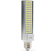 Lampadine a pannocchia 60 SMD 5050 E26/E27 9 W 600 LM 5500K K Bianco AC 100-240 V