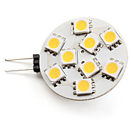 G4 3W 9 SMD 5050 100 LM Warm White LED Spotlight DC 12 V