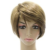 Capless High Quality Synthetic Light Brown Wig