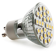 GU10 Spot LED MR16 24 SMD 5050 150 lm Blanc Chaud AC 100-240 V