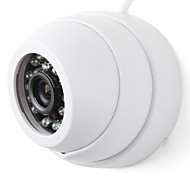 24 IR LEDs Security CCTV Dome Camera 3.6MM Lens Night Vision (Assorted Colors)
