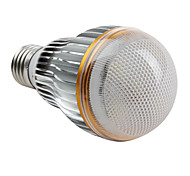 E26/E27 W 5 High Power LED 450 LM Natural White A Globe Bulbs AC 85-265 V
