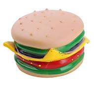grincement jouet hamburger pour chiens