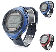 Men's Solar Sport Silicone Digital Automatic Wrist Watch (Assorted Colors)