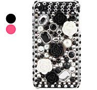 Carcasa de Gemas y Flores de los 90 para iPhone 4 y 4S - Colores Surtidos