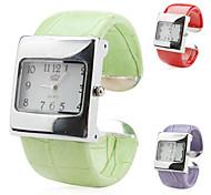 Frauen-Legierung Analog Quarz Armband Uhr (farbig sortiert)