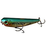 Hard Bait / Pencil 1 pcs g Ounce mm inch Green / Pink / Yellow / Red / Blue Hard Plastic Sea Fishing / Freshwater Fishing / Bass Fishing