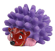 Squeaking Mini Hedgehog Toy for Dogs