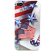 Stars Pattern Hard Case for iPhone 4 and 4S