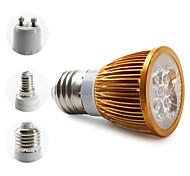 Focos MR16/PAR E14/E26/E27/GU10 W 4 LED de Alta Potencia 360 LM 3000K K Blanco Cálido AC 85-265 V