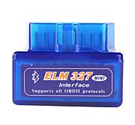 Super Mini Bluetooth ELM327 OBD2 V1.5 автомобиля диагностический инструмент интерфейс - Blue