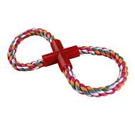resistente corda intrecciata pet toy stile per i cani (25 x 12cm)