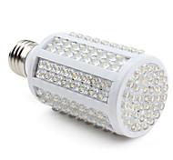 9W E26/E27 Bombillas LED de Mazorca 166 LED Dip 500 lm Blanco Cálido AC 100-240 V