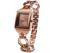 Femme Quartz Bande bracelet Bronze