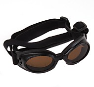 Adjustable UV Protective Sunglasses for Dogs (M-L, Black)