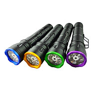 LED Flashlights / Handheld Flashlights LED 1 Mode Lumens Others AA Others , Black Aluminum alloy