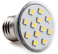 Spot Lampen PAR E26/E27 2.5 W 150 LM 2800K K 12 SMD 5050 Warmes Weiß AC 220-240 V
