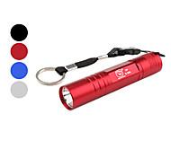 Smiling Shark SS-5004A Portable 1-Mode LED Flashlight (1xAA, Assorted Colors)