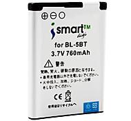 iSmart 760mah batteria per Nokia 7510 Supernova, N75