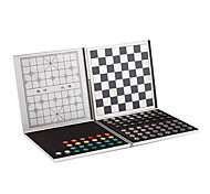 5-in-1 Aluminum Alloy Magnetic Travel Game Set - Silver Case