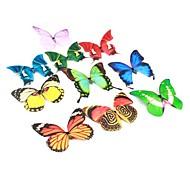 grandes mariposas decorativas magnética (colores aleatorios)