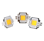 DIY 10W 800-900LM 2850-3050K Warm White Light Integrate LED Emitter (3-Pack, 9-11V)