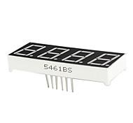 0,56 pulgadas de 4 dígitos ánodo pantalla LED dinámica (rojo)