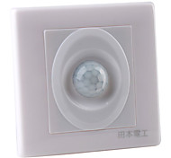 Three-Wire System Wall Mount Infrared Sensor Motion Activated LED Light Switch (180-240V)