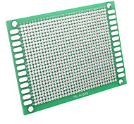 6 x 8cm Universal DIY Double-Sided Glass Fiber Board-Green