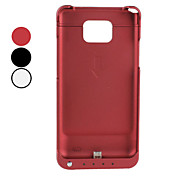 External Battery Case with Stand for Samsung Galaxy S2 I9100 (Assorted Colors)
