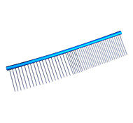 Colorful Stainless Steel Grooming Comb for Dogs, Cats