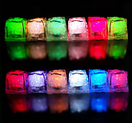 Color Changing Ice Cubes Style LED Light (10-Pack)