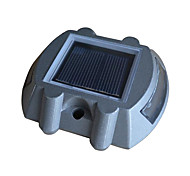 Solar Aluminum 6-LED Road Driveway Path Stair Light