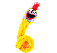 Yelling Earthworm Style Catnip Toy for Cat (Orange)