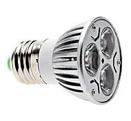 Dimmbar Spot Lampen PAR E26/E27 3 W 300 LM 6000K K 3 COB Natürliches Weiß AC 220-240 V