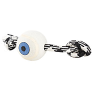 Single Eye Style Dogs Toy with Rope
