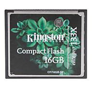 Kingston 16GB Elite Pro 133X Compact Flash cartão de memória CF