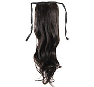 Laceup Chestnut Brown Long Curly Ponytails Hair Pieces-3 Colors Available