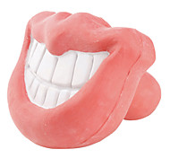 Dog Toy Pet Toys Chew Toy Lips Rubber Pink