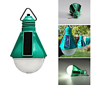 Solar Powered 5-LED White Light Rechargeable Blub Camping Light