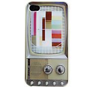 Телевизор Pattern Жесткий чехол для iPhone 4 и 4S