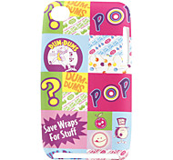 Cartoon Pattern Soft Case for iPod iTouch 4