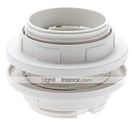 E27 lâmpada LED duplo loop Suporte Base de Parafuso